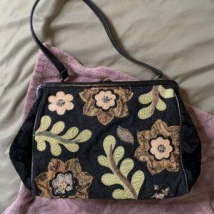 Vintage textile purse